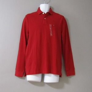 NEW Tommy Hilfiger Long Sleeve Polo Rugby Shirt S